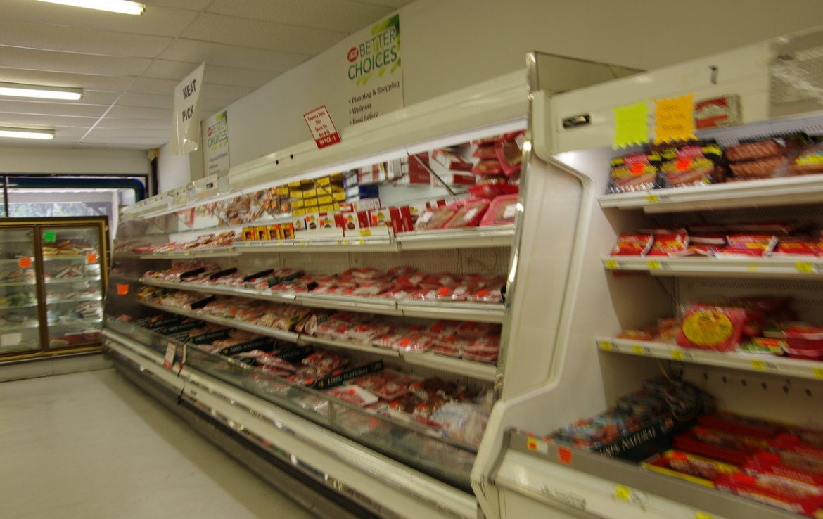 Grocery Interior Meat