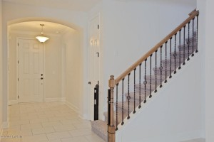Interior Foyer first floor stairs