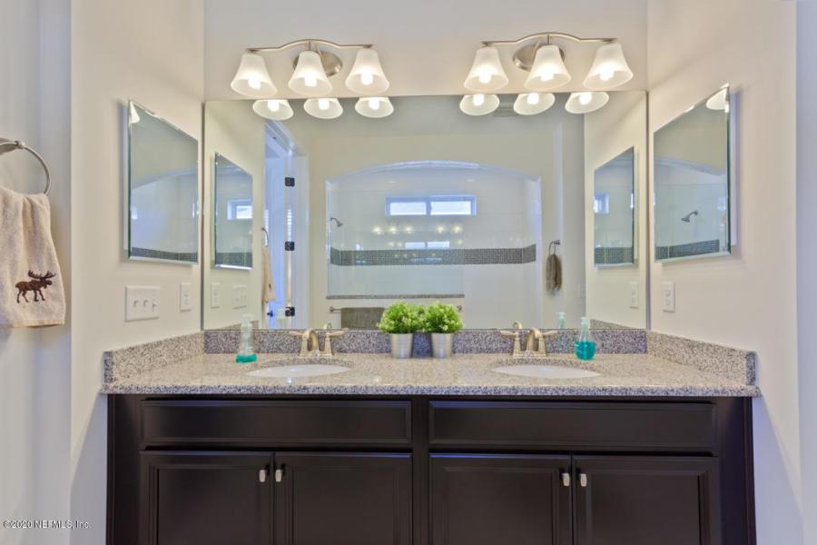 Master Bathroom double sink