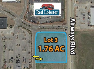 1.76 AC Lot next to Red Lobster