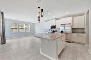 Home Interior Kitchen plus dining area
